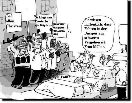 Islams_vs_Deutscher_Michel